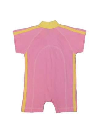 Песочник Желтый кот Спорт розовый, размер 56