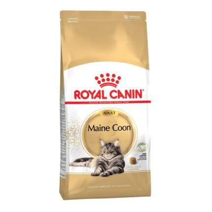 Сухой корм для кошек ROYAL CANIN Maine Coon Adult, мейн-кун, домашняя птица, 10кг