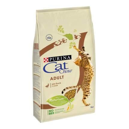 Сухой корм для кошек Cat Chow Adult, утка, 15кг