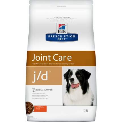 Сухой корм для собак Hill's Prescription Diet Joint Care, курица, 12кг