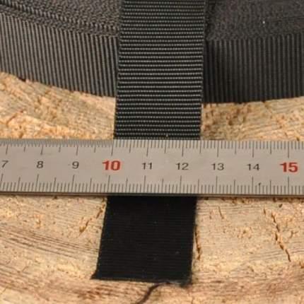 Стропа 25 мм черная