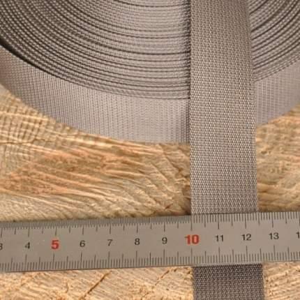 Стропа 25 мм серая
