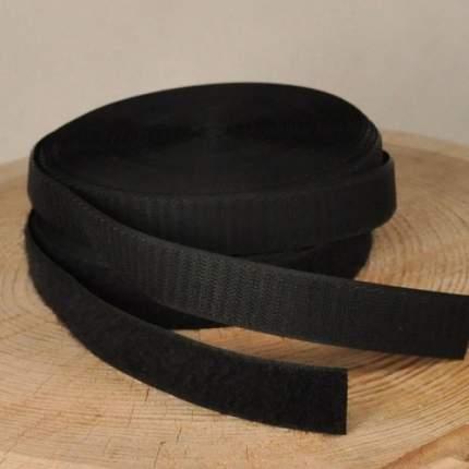 Липучка 25 мм черная
