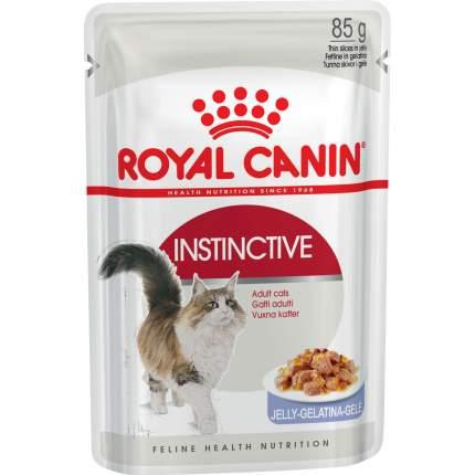 Влажный корм для кошек ROYAL CANIN Instinctive, мясо, 12шт по 85г