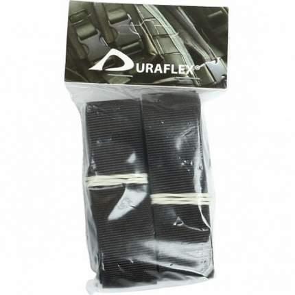 Крепежная стропа 25 мм с трехщелевкой Duraflex 120 см 2 шт. оливковый