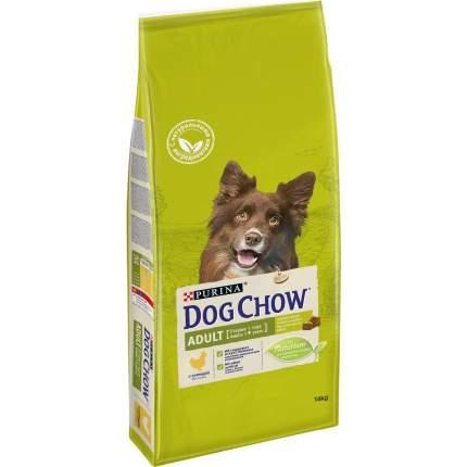 Сухой корм для собак Dog Chow Adult, курица, 14кг