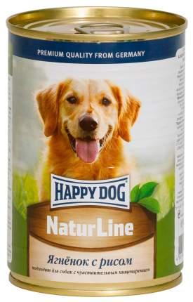 Консервы для собак Happy Dog NaturLine, с ягненком и рисом, 20шт по 400г
