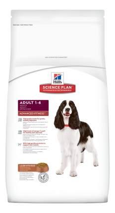 Сухой корм для собак Hill's Science Plan Adult Advanced Fitness Medium, ягненок, рис, 12кг