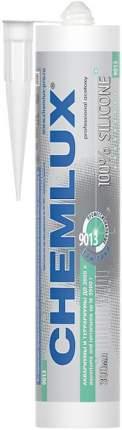 Герметик для аквариумов CHEMLUX 9013 силиконовый, прозрачный, до 3500 л, 300 мл