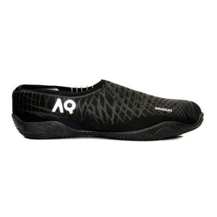 Aqurun тапки Aqua Shoes (40,5, Черный/Серый)