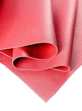 Коврик для йоги и фитнеса RamaYoga Yin-Yang Studio красный 3 мм