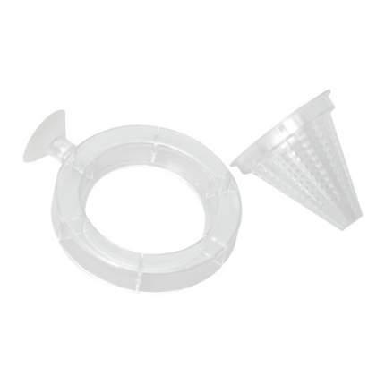 Кормушка для рыб Hagen, конусная, белая, диаметр 7 см