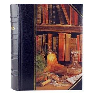"""Фотоальбом в виде классической книги """"Винтаж"""", 200 фото 10х15 см, кармашки"""