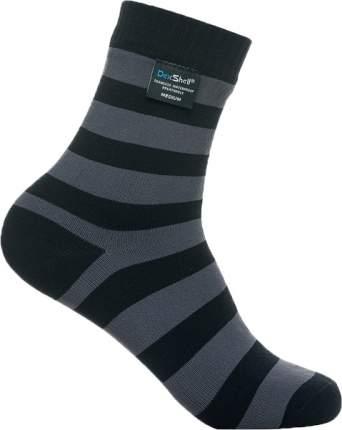 Водонепроницаемые носки Dexshell Ultralite Bamboo Black grey stripe DS643 размер M (39-42)