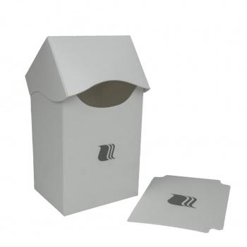 Пластиковая коробочка Blackfire вертикальная белая, 80+ карт