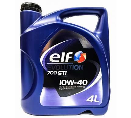 ELF Моторное масло Elf 10w40 Evo 700 Sti П/Син.4л