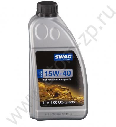 Swag Моторное масло Sae 15w-40 Mineral 1l Ci-4,Sl A3,B3,B4, E7 Cat Ecf-1-A,Ecf-2 , Man 3