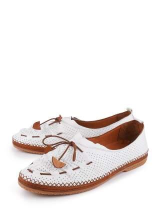 Туфли женские Longfield 423119-15 белые 41 RU