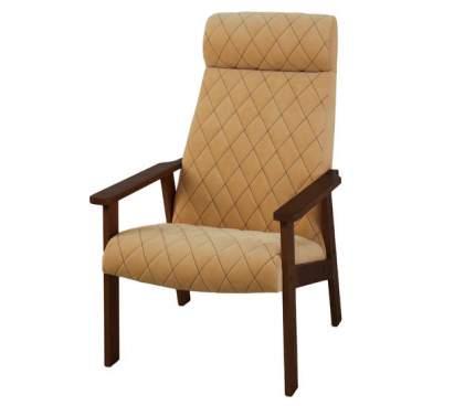 Кресло для отдыха Вилора c прострочкой, Bolero, Орех