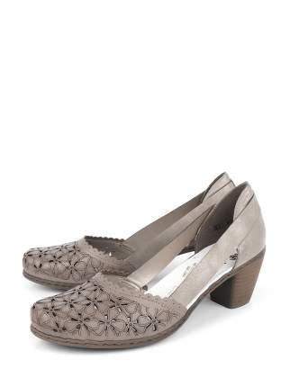 Туфли женские Rieker 40986-64 серые 38 RU