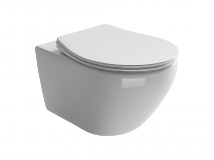 Подвесной унитаз Ceramica Nova Pearl Rimless безободковый CN8001