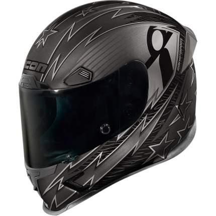 Шлем ICON AIRFRAME WARBIRD black, размер S