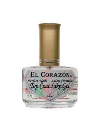 Топ El Corazon Top Coat Like Gel 16 мл