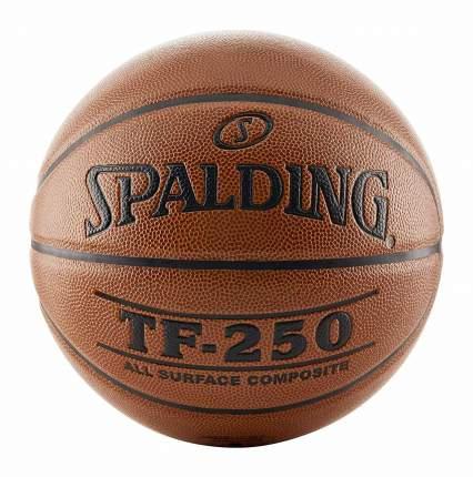 Баскетбольный мяч TF-250, размер 5, композит (74-537Z)
