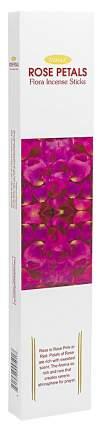 Ароматические палочки Aasha Herbals Лепестки розы 10 шт
