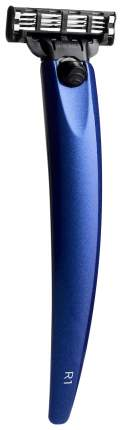 Бритва Bolin Webb R1, Gillette Mach3, Синий металлик
