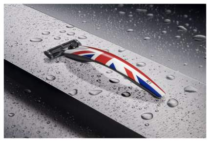 Бритва Union Jack Bolin Webb R1, Gillette Mach3