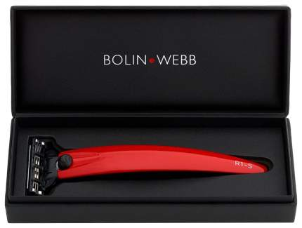 Бритва Bolin Webb R1-S, Gillette Mach3, Красный