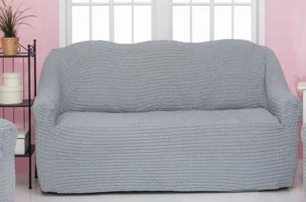 Чехол на трехместный диван без оборки CONCORDIA, серый