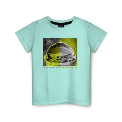 Детская футболка ВсеМайки Child Yoda, размер 140