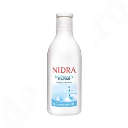 Пена-молочко Nidra  для душа и ванны увлажняющая 750мл
