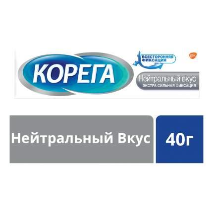 Крем для фиксации зубных протезов Corega Нейтральный вкус 40г