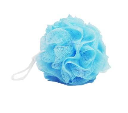 Мочалка для тела Dewal Beauty голубая BCS-50BL