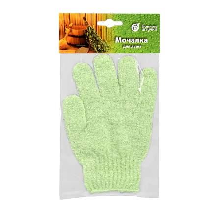 Мочалка для душа Банные штучки перчатка, 16х17,5 см
