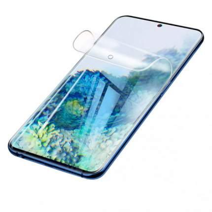 Гидрогелевая защитная плёнка Rock для Samsung Galaxy S20 (Прозрачная)