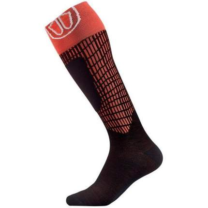 Гольфы Sidas Ski Merinos Lv Socks, black/red, 39-40 EU