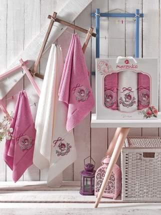 Полотенце Oran Merzuka Rose Цвет: Светло-Лиловый (50х80 см - 2 шт,70х130 см)