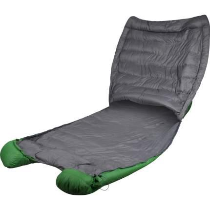 Спальный мешок Сплав Tandem Comfort зеленый, двусторонний