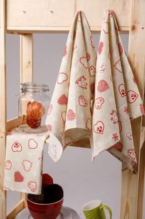 Полотенце кухонное Мари Санна Сердца (45х73 см)