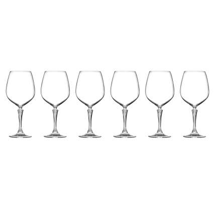 Набор фужеров для вина RCR Glamour 800мл (6 шт)