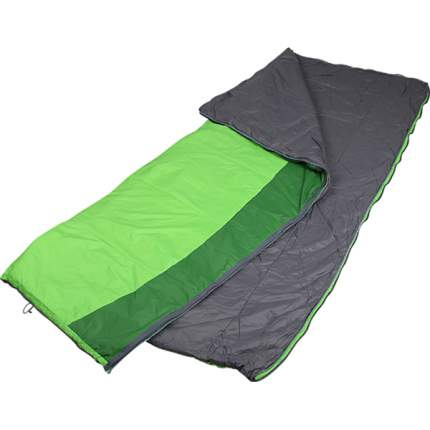 Спальный мешок Сплав Veil 120 Primaloft зеленый/лайм, правый