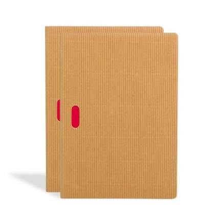 Записная книжка PaperOh Cahier Ondulo Natural A5
