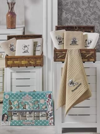Кухонное полотенце Meteor Неделька Цвет: Коричневый (40х60 см - 7 шт)