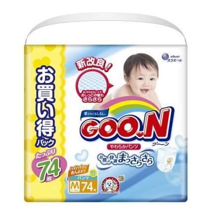 Подгузники-трусики Goo.N Ultra Jumbo Pack M (7 до 12 кг), 74 шт.