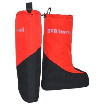 Бахилы с подошвой BVN Climb-2, размер XL, цв. красный