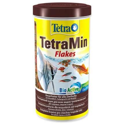 Корм для рыб Tetra Min Flakes, хлопья, 100 мл